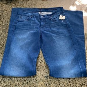 7 for all mankind stretchy jeans Sz 24
